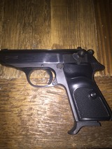WALTHER/INTERARMS PPK/S 22LR