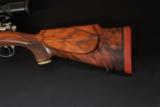 ENGRAVED CUSTOM RETRO LOOK 264 WIN MAG WITH FULL MANNLICHER STOCK - 3 of 19