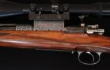 ENGRAVED CUSTOM RETRO LOOK 264 WIN MAG WITH FULL MANNLICHER STOCK - 5 of 19