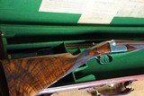 "Westley Richards 28 Ga ""Gold Name"" Boxlock Ejector"