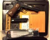 As New Browning 1911-A1 .22lr Custom- 1 of 5