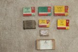 English Cartridge box collection 8 full boxes and 55 empty