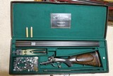 12 Bore Lyon and Lyon underlever hammer double rifle 13.1 pounds 7 dram proof