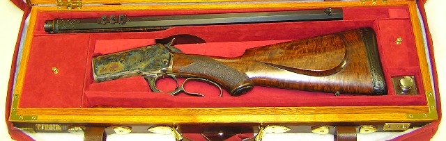 "Winchester 1886 Take Down ""Brad Johnson"" .50-110"