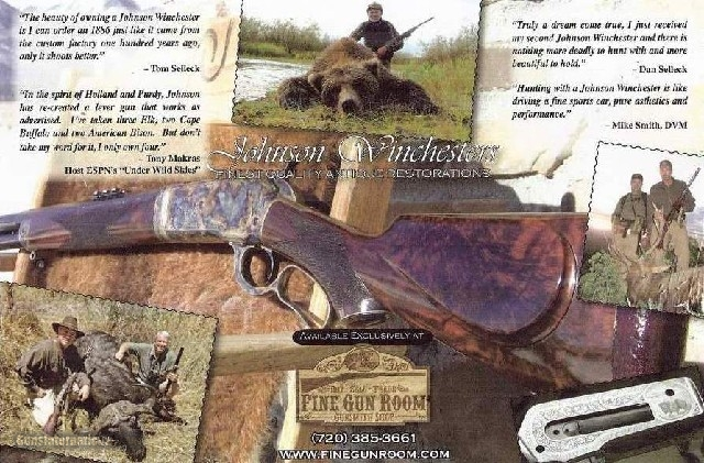 Winchester 1886 Take-Down .45-70 by Brad Johnson - 5 of 6