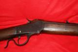Winchester Model 1885 Low Wall Rifle. - 8 of 12
