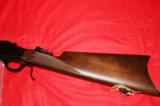 Browning Model 1885 Lever action single shot rifle - 6 of 10