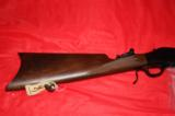 Browning Model 1885 Lever action single shot rifle - 3 of 10