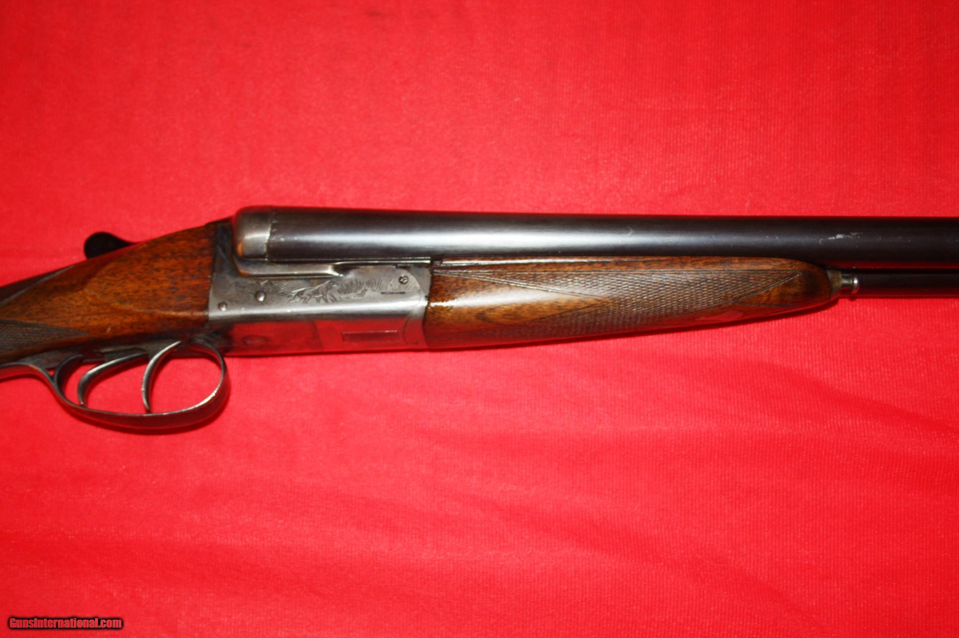 F. Dumoulin 12 Ga. double barrel shotgun