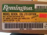Remington 700 222 *MAPLE* Grade 5's NIB - 1 of 6