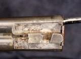 German Double Barrel Engraved Shotgun - 12 of 15