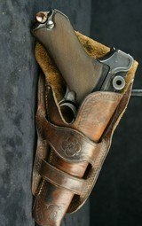 Two Loop Wester Style Holster for Luger - 2 of 5