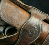 Two Loop Wester Style Holster for Luger - 3 of 5