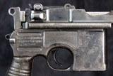 Mauser 1896 Commercial Pistol, 9mm - 4 of 15