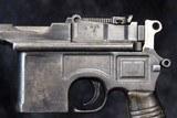 Mauser 1896 Commercial Pistol, 9mm - 8 of 15