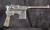 Mauser 1896 Commercial Pistol, 9mm - 1 of 15