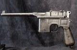 Mauser 1896 Commercial Pistol, 9mm - 2 of 15