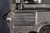 Mauser 1896 Commercial Pistol, 9mm - 6 of 15