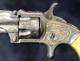 Marlin XXX Standard 1872 Pocket Revolver Engraved - 4 of 15