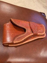 Hand Carved holster Fits 1911 - 2 of 3