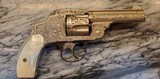 Antique Smith and Wesson 3rd model safety hammerless aka new departure
