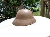 Japanese WWII Helmet with Markings