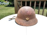 Japanese WWII Helmet with Straps