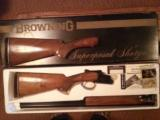 browning supeprosed 20 ga. sskeet