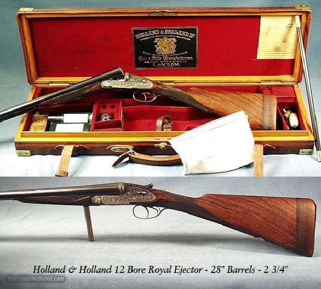 H&H 12 Ga. ROYAL EJECT - NICE PIECE - 28