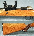 FN MAUSER 8x60S - BELGIUM DLX SPORTER - ENGR - MANNLICHER- 2 of 3
