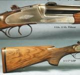 HEYM 300 WIN SIDELOCK- ZEISS 3x9- CLAW Mts- 88BSS- 99% COND - 2 of 3