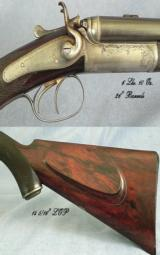 HOLLAND & HOLLAND .300 (.295) ROOK MINIATURE DOUBLE RIFLE- 6 Lbs 10 Oz- EXCELLENT BORES- ORIG. CASE - 2 of 6
