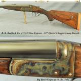 "RODDA 475 #2 N E- SOLID WORKING DOUBLE- 24"" EJECT CHOPPER LUMP Bbls- ACCURATE RIFLE- 11 Lbs. 8 Oz. - 1 of 4"