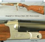 KRIEGHOFF 9.3 x 74R MODEL CLASSIC- VERY NICE WOOD- PROVEN ACCURACY- OVERALL 96-97%- 2 1/2