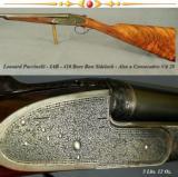 PUCCINELLI IAB 410- BEST ITALIAN SIDELOCK- 1980- 27
