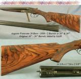 FRANCOTTE 20- 2 Bbl SET- 1938 MOD 30- ORIG 30