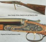 PURDEY 28 BORE MADE for the LEFT HAND- OVERALL in 99% COND- ORIGINAL GUN- 28