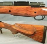 BREVEX MAG MAUSER by CHAMPLIN- 460 Wthby Mag.- A DIESEL TOUGH SERIOUS RIFLE- 4 INTEGRAL BARREL FEATURES- NICE- 2 of 5
