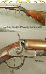 ARMY & NAVY 12 BORE RIFLE- FULL RIFLED- LONDON N. P. in 2009 to 2 3/4