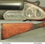 LANG & SON 12 SIDELOCK PAIR- NEW Bbls. in 1971 THAT REMAIN as NEW- COMPLETE REFINISH in ENGLAND - 4 of 9