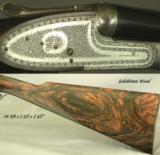 """PIOTTI 28- MOD MONACO 2 BEST GUN- 27"""" Bbls.- 1998- EXHIBITION WOOD- TOTALLY APPEARS UNFIRED- 5 Lbs. 13 Oz. - 2 of 4"""