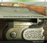 BERETTA 1956 ASEL 12- VERY NICE CUSTOM WOOD- 28