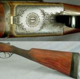 """WEBLEY & SCOTT 16 BORE- 28"""" EJECT Bbls.- 1968- OVERALL in 97% COND- 99% ORIG CASE COLORS- 6 Lbs. 5 Oz.- I.C. & I.M. - 3 of 3"""