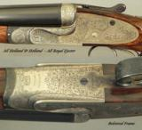HOLLAND & HOLLAND 30 SUPER FLANGED MAG ROYAL EJECTOR- 1933- GOLDEN ERA- DELUXE O & L CASE