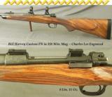 HARVEY, BILL- 338 FULL CUSTOM- FN MAUSER- FORMER PURDEY CHARLES LEE ENGRAVED- NICE WOOD - 1 of 4