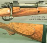 GOUDY 300 H&H- MAG MAUSER SINGLE SQUARE BRIDGE- BOLLIGER INSTALLED KRIEGER MATCH GRADE BARREL - 2 of 4