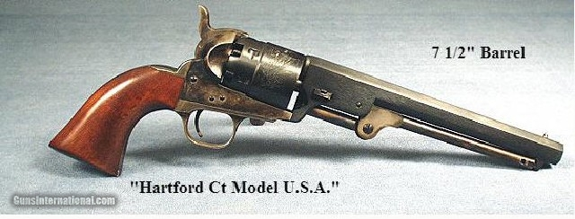 COLT 1851 NAVY REPRODUCTION 44 CALIBER-ITALY-UNFIRED & 98%- 2 of 2