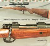 MAUSER by DUNCAN'S GUNWORKS- 404 JEFFERY- FULL CUSTOM 1909 ARGENTINE MAUSER- EAW QD MOUNTS- S&B 1.5x6 - 1 of 4