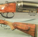 ABBIATICO & SALVINELLI 470 (CHAMPLIN FAMARS)- TOUGH DOUBLE- WEBLEY TYPE LONG BAR ACTION - 3 of 5