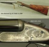 ATKIN 12SIDELOCK PAIR- NEW CHOPPER LUMP Bbls. in 1988 by the MAKER- NEW BUTTSTOCKS by the MAKER- ALL LONDON - 2 of 10
